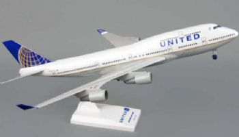 Boeing 747-400 United Airlines Skymarks Collectors Model Scale 1:200 SKR614 EA